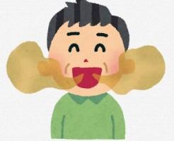 口臭のイラスト