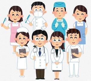 医師達のイラスト