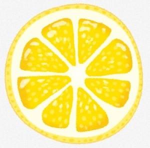 ビタミンC豊富なレモンのイラスト