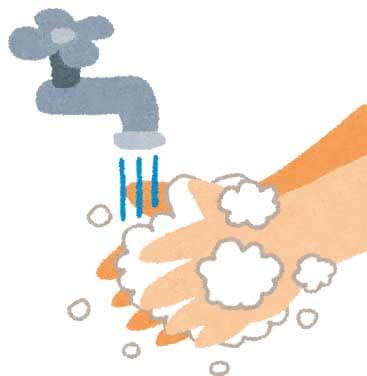 手洗いのイラスト